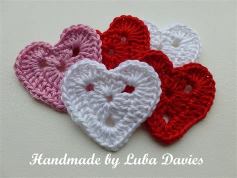 heart pattern in crochet crochet heart motif by luba davies craftsy