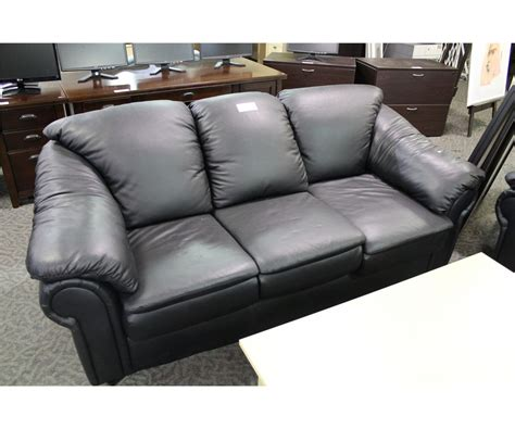 overstuffed leather couch black overstuffed leather 3 seat sofa and armchair able
