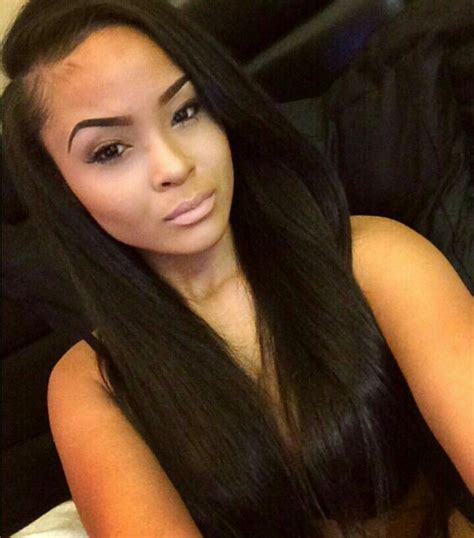 straight hair with black and brown at bottom straight black hair beauty pinterest peruvian hair