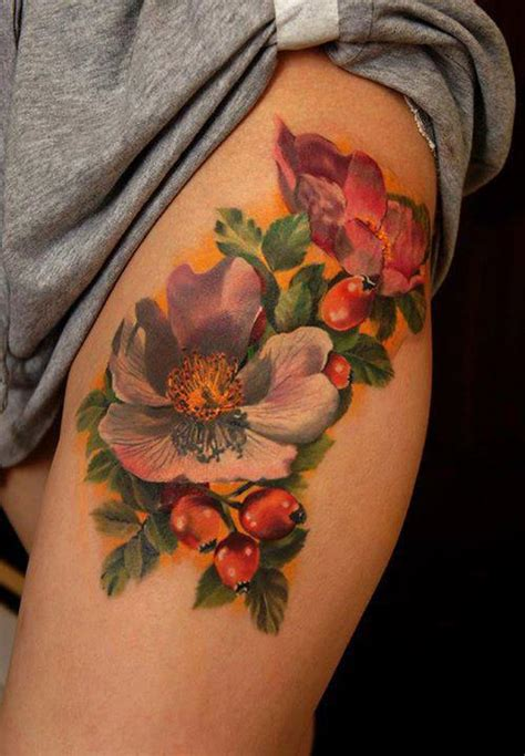 tattoo flower for girl girl tattoos and designs page 283