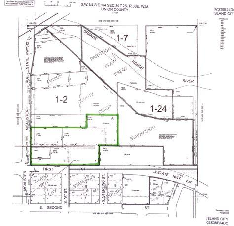 oregon plat maps 4 36 acres in union county oregon