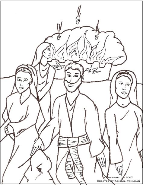coloring page of abraham and lot sodom and gomorrah coloring page creation pinterest