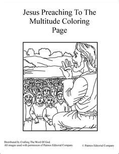coloring pages of jesus sermon on the mount jesus preaching coloring page sermont on the mount