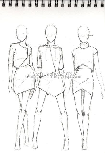 Fashion Design Vorlage Die Besten 17 Ideen Zu Modeskizzenvorlage Auf
