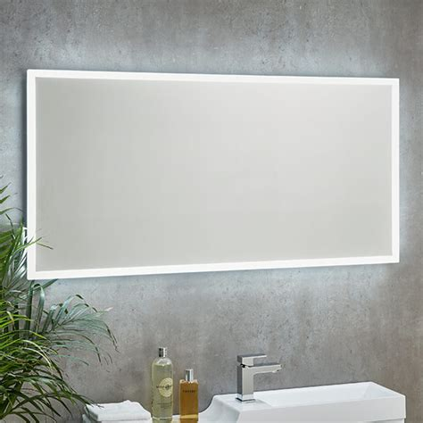 shield mosca led bathroom mirrors in 3 sizes