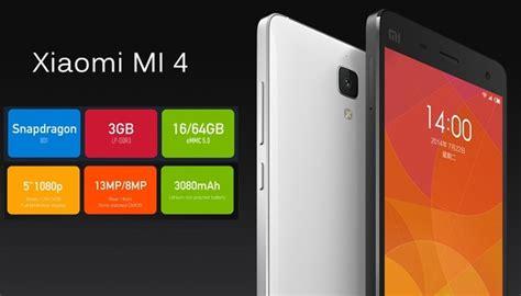 Hp Android Xiaomi Mi4 rekomendasi daftar hp android murah terbaik 2016