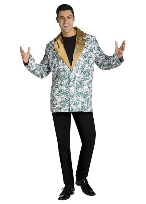 Costume Jacket hundred dollar bill jacket costume costumes