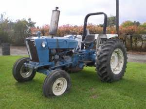 ford 4600 4x2 3cyl diesel tractor