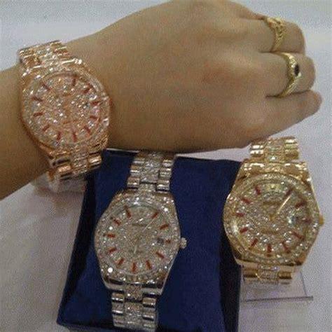 Jam Tangan Wanita Rolex Line Date langit biru shop home