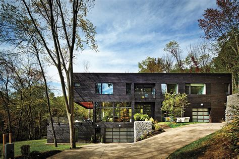 Modern House Exterior by Home Of The Year 2014 Best New Build Pittsburgh