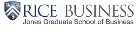 Rice Graduate School Mba Immersion by Branding Logotypes And Uses Jones Graduate School Of