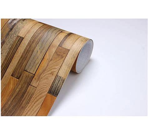 stickable wallpaper wood panel vinyl self adhesive peelstick by