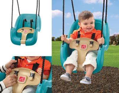 step 2 infant swing step2 infant to toddler swing on behance