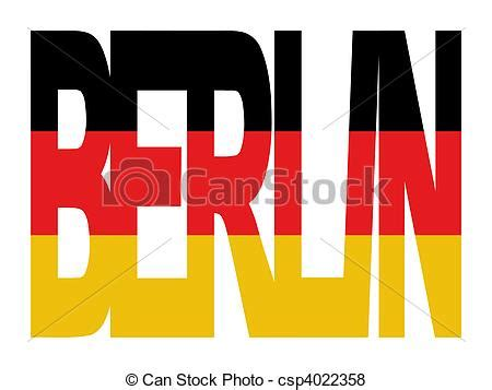 testo bandiera archivio illustrazioni di testo berlino bandiera