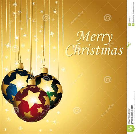 merry christmas elegant colorful  gold greetin stock image image