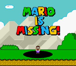 emuparadise missing roms mario is missing france rom