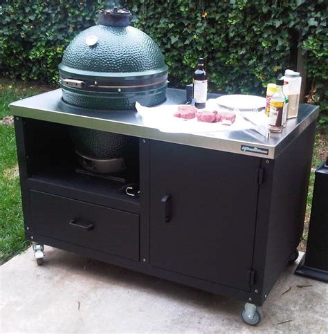 25 best ideas about big green egg table on