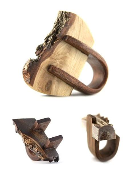 Recycled Wooden Wedding Ring From Gustav Reyes by November 2011 The Carrotbox Modern Jewellery And