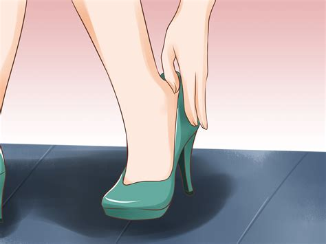 walking with high heels 3 ways to walk in high heels wikihow