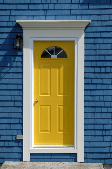 bright yellow door simple bright yellow front door get the look with dunn