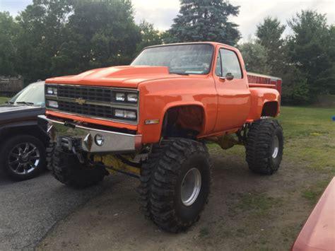 monster truck show new york 1977 chevy stepside monster truck