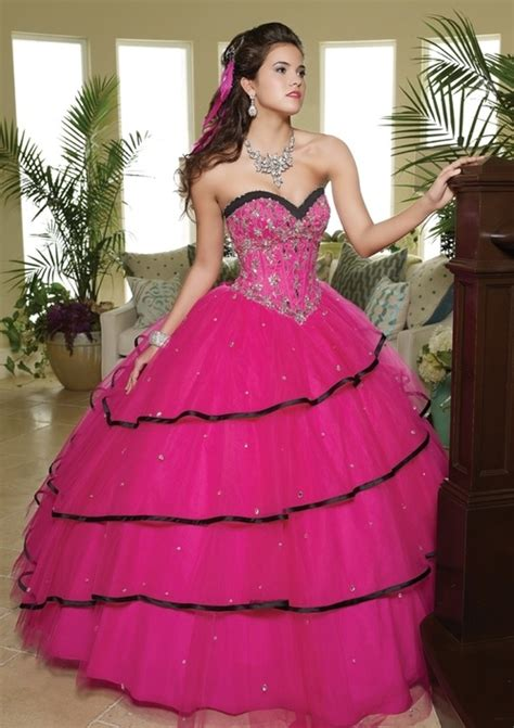 quinceanera themes for october pink and black quinceanera dress quinceanera themes