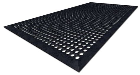 Rubber Mats by New Elastoguard 174 Rubber Compound Offers Antimicrobial