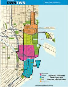 Map Of Downtown Miami by Downtown Miami Map Map Of Brickell Downtown Miami