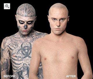dermablend tattoo cover up dermablend before and after boy cover