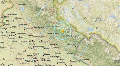 earthquake uttarakhand uttarakhand earthquake tremors shook delhi haryana