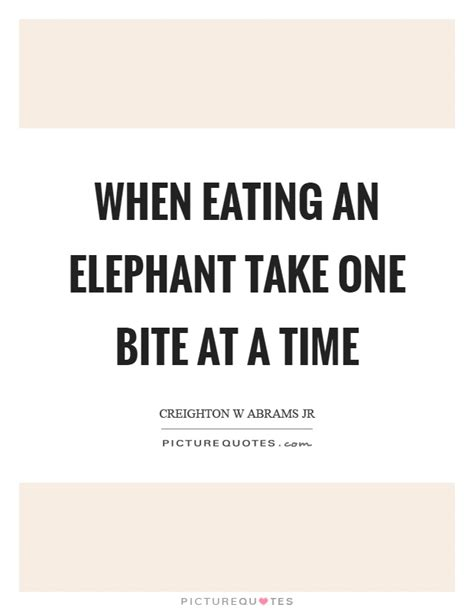 one bite at a time everyday meal plans for fighting cancer disease ibs obesity and other ailments books elephant quotes elephant sayings elephant picture quotes