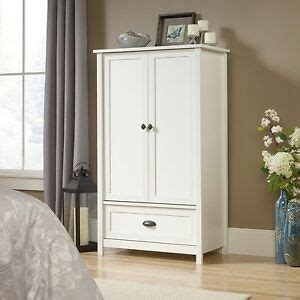 Wardrobe Closet White - new white wardrobe closet storage armoire clothes cabinet