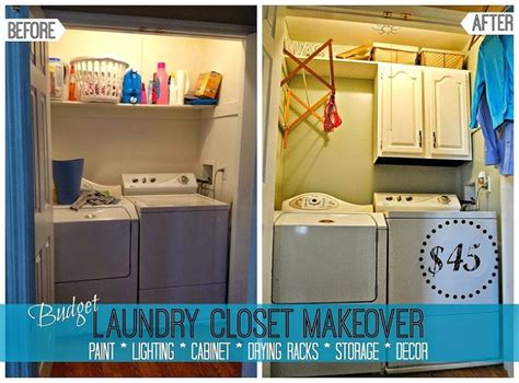 Diy Small Laundry Room Makeover by 45 Diy Laundry Room Makeover