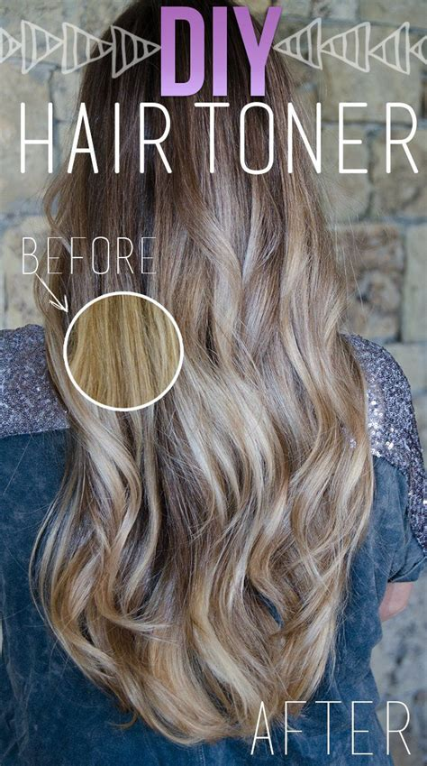 diy fix for brassy hair color