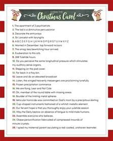 guess the christmas carol game lil luna