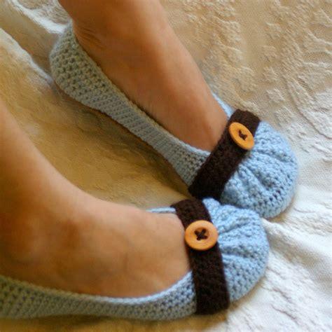 cute pattern flats house slipper crochet pattern for cute as a button ballet flat