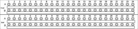 adc patch panel label template setup patchbay basic gearslutz