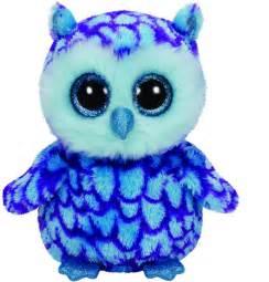 oscar blue purple owl toy sense