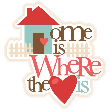 House Silhouette by Home Is Where The Heart Is Svg Cutting Files For Cricut