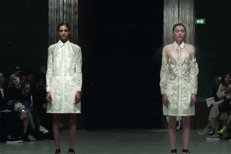 Hussein Chalayans Amazing Fashion And Technology Mix 2 by Hussein Chalayan At Design Week Turkey