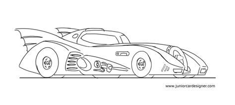batman car drawing how to draw the batmobile for kids junior car designer
