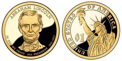 abraham lincoln on dollar 2010 s presidential dollars abraham lincoln golden dollar