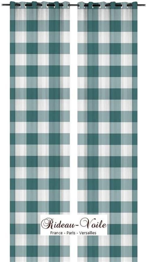 Rideaux Vichy best rideau rideaux motif imprims grand larges carreaux