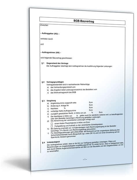 Musterbrief Preisanpassung beliebte downloads bau immobilien 187 dokumente vorlagen