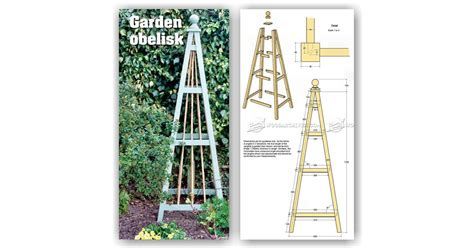Garden Potting Bench - garden obelisk plans woodarchivist