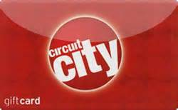 Circuit City Gift Card - buy circuit city gift cards raise