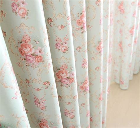 floral blackout curtains aliexpress com buy rustic floral design full shading