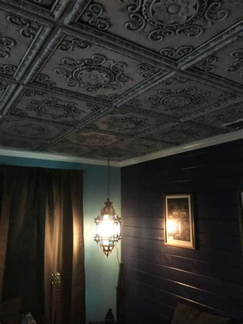 Faux Tin Ceilings by Faux Tin Ceiling Tile 24 X 24 Dct 08 Dct Gallery