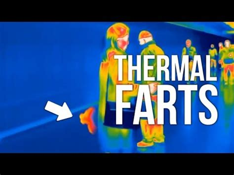 people farting in public (thermal camera) youtube