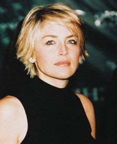pics of sharon stones hair cut only print out front and back back of sharon stone hairstyles sharonstone sharon stone